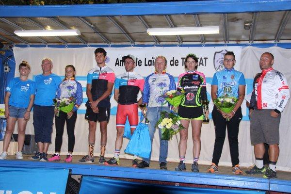 Tostat (65).Nocturne.Challenge Décathlon Tarbes VTT et le cyclo cross.UFOLEP Toutes.Vendredi 21 Juillet 2017