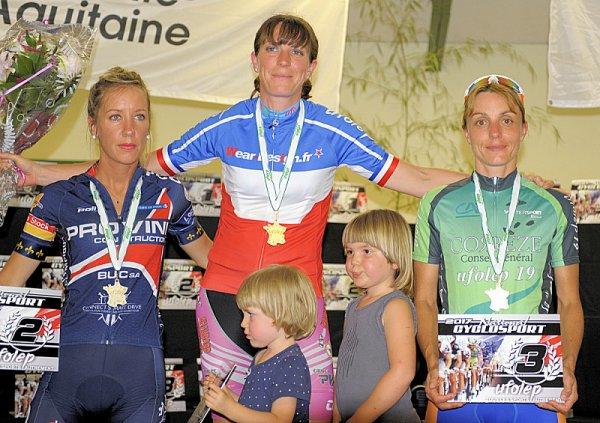 Saint sulpice le guéretois(23).Championnat National UFOLEP Route Féminines 17- 29 ans. 30-39 ans.Masculins.50/59 ans Samedi 15 juillet 2017