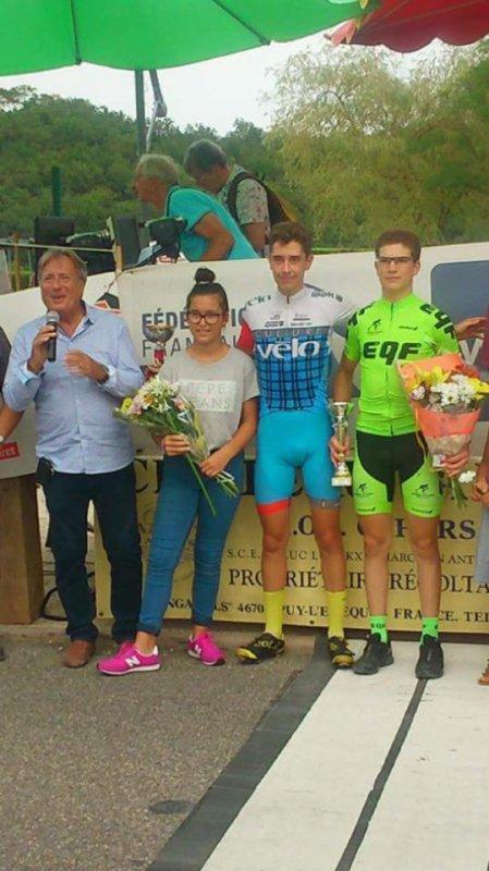 POMAREDE(46). 5 ème Grand Prix du Kaolin. Minimes,Cadets,3.J.PCO.Dimanche 30 Juillet 2017