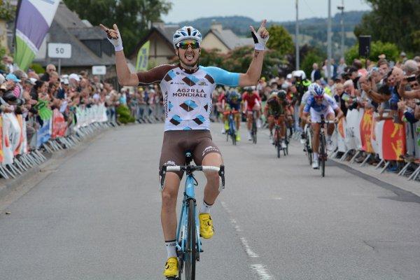 Saint-Martin-de-Landelles(50).38e édition de la Polynormande UCI 1.1.12° mMnche de la Coupe de France-PMU. Saint-Martin-de-Landelles-Saint-Martin-de-Landelles 168,9 km.Dimanche 30 Juillet 2017