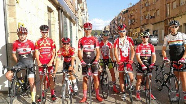 MAELLA(Esp).XXXIV Vuelta Al Bajo Aragon Cadets. 1° étape CLM Individuel 2km.Vendredi 4 août 2017