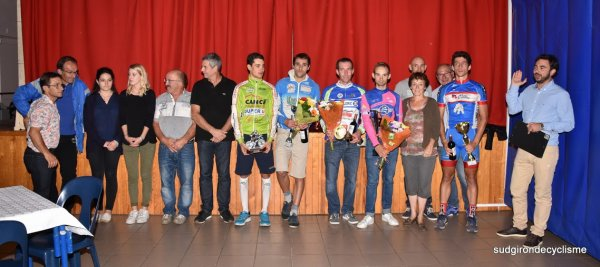 SEVIGNACQ THEZE(64).Prix des fêtes.2éme , 3éme catégorie , juniors , PC Open 92 km.Samedi 5 Août 2017