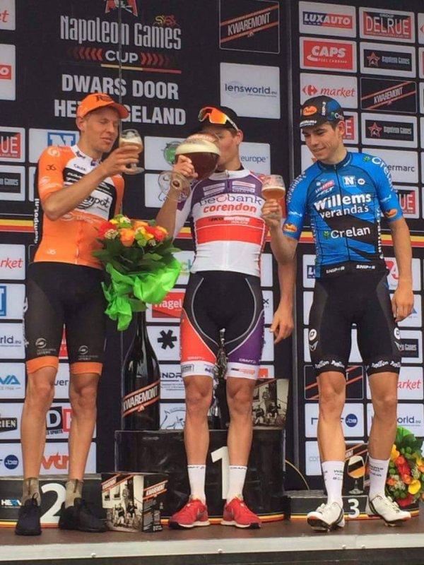 Diest(Bel).Dwars door het Hageland - Aarschot UCI 1.1.Aarschot  - Diest  194 km.Samedi 5 Août 2017