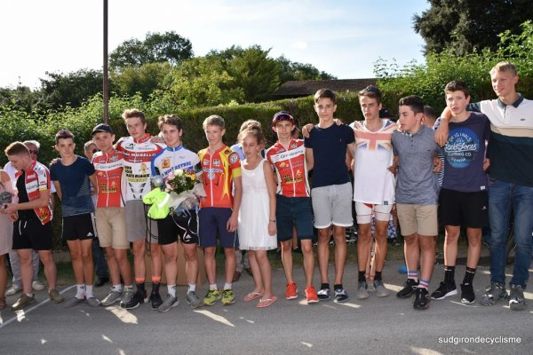 Biran(32).60éme Critérium de Biran. Prologue Cadets. Dimanche 6 Août 2017