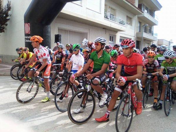 Horta de San Juan(Esp).XXXIV Vuelta Al Bajo Aragon Cadets. 3° étape Gandesa – Horta de San Juan 57 km.Dimanche 6 août 2017