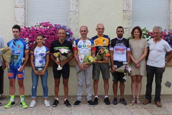 Riscle(32).Prix Cycliste des Fêtes.UFOLEP 1.2.3/GS/FEM.Cadets Minimes.Dimanche 6 août 2017