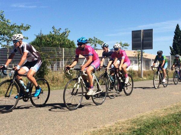 CANALS(82).Prix Cycliste des Fêtes.UFOLEP 1.2.3/GS/F.Dimanche 6 août 2017