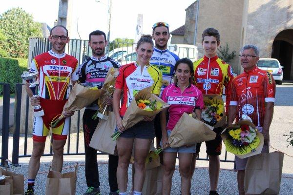 VIDOUZE(65).Grand Prix Cycliste de Vidouze.UFOLEP 1ère, 2ème, 3ème, GS, Fem, Cadets.Samedi 12 août 2017