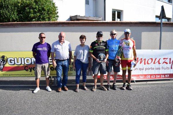 MONTBETON(82).Grand Prix des Fêtes.FSGT 1 2 3 4 5 F C M + N.L.Dimanche 13 Août 2017