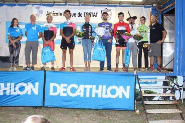 Tostat(65). Nocturne Cyclocross UFOLEP. Challenge Decathlon Toutes.Vendredi 18 août 2017
