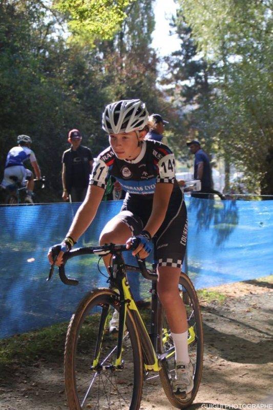 Besançon(25).1° Manche de la Coupe de France de Cyclo-Cross Cadettes. Dimanche 15 octobre 2017
