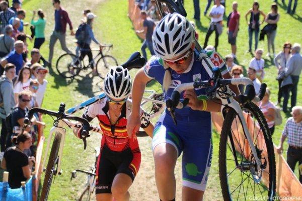 Besançon(25).1° Manche de la Coupe de France de Cyclo-Cross Dames UCI C1. Dimanche 15 octobre 2017