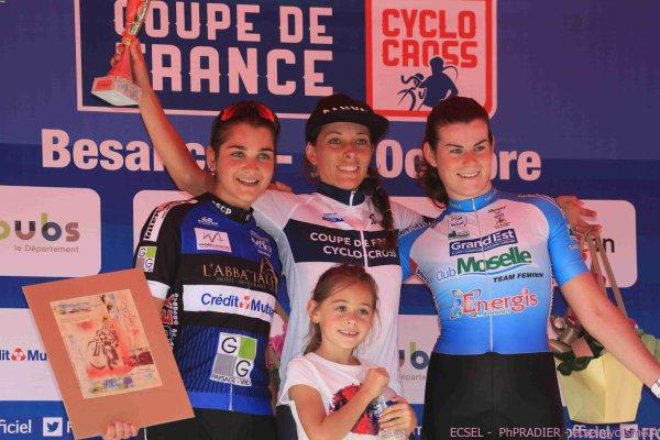 Besan on 25 coupe de france de cyclo cross dans la cat gorie dames et cadettes classement - Classement de la coupe de france ...