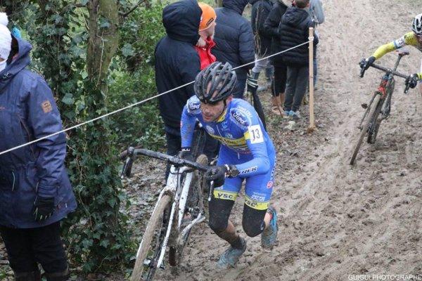 Jablines(77).3° Manche de la Coupe de France de Cyclo-Cross UCI C1. Elites.Dimanche 03 décembre 2017