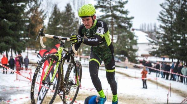 Banovce Nad Bebravou(Slovaquie).Championnats de Slovaquie de Cyclo-Cross.Élite Hommes,Élite Dames.Dimanche 03 décembre 2017