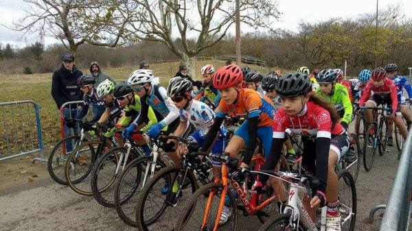 Toulouse-Pech-David(31).Stade Sordelo .3ème édition du Cyclo-cross de Toulouse.Souvenir David Perillaud Trophée Midi-Pyrénées de Cyclo-Cross.De Pré-licencies à Séniors.Samedi 16 décembre 2017