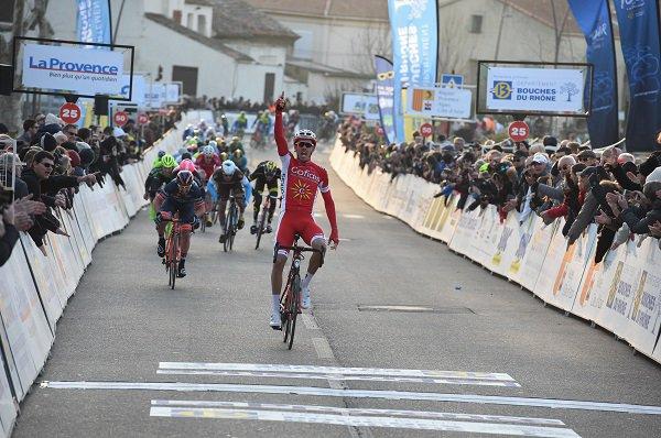 Istres(13).3° Tour Cycliste International La Provence UCI 2.1.1° étape Aubagne - Istres 165.9 km.Vendredi 9 février 2018