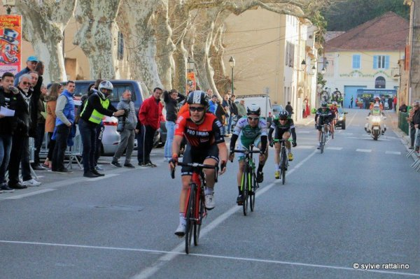 Carcès(83).Grand Prix de Carcès-Souvenir Jacques Dalmasso.  Carcès - Carcès  138 km.Rég.1.2.3.J.Dimanche 11 février 2018