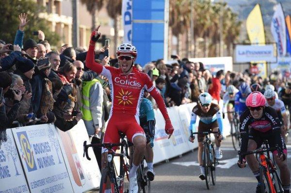 Marseille(13).3° Tour Cycliste International La Provence UCI 2.1.3° étape Aix-en-Provence - Marseille 166.7 km. Dimanche 11 février 2018