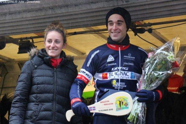 Mauléon(64).Circuit de l'Essor.Tour de la Soule.5° étape Mauléon - Mauléon 125 km.Elite Nationale 1.12.1.Elite Professionnel,amateurs 1,2.Dimanche 11 février 2018