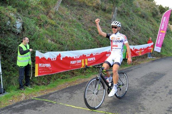Perpignan(66).Cyclosportive Perpignan – Collioure  Consolation 70,5 km.Courses au Soleil.Toutes Catégories.Samedi 10 février 2018