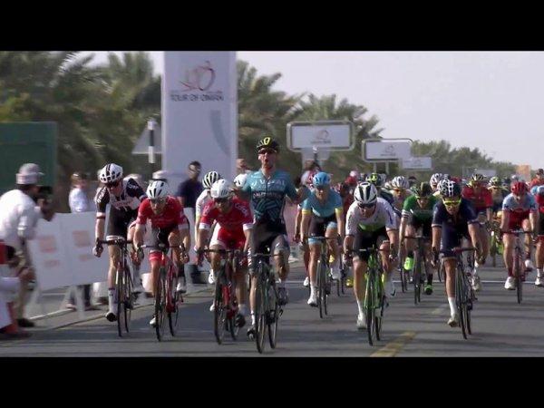 Nizra(Oman).Tour d'Oman UCI  2.HC.1° étape Nizra - Sultan Qaboos University 162.5 km.Mardi 13 février 2018