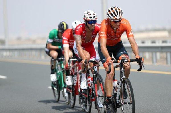 Al Bustan(Oman).Tour d'Oman UCI 2.HC.2° étape Sultan Qaboos University - Al Bustan 167.5 km.Mercredi 14 février 2018