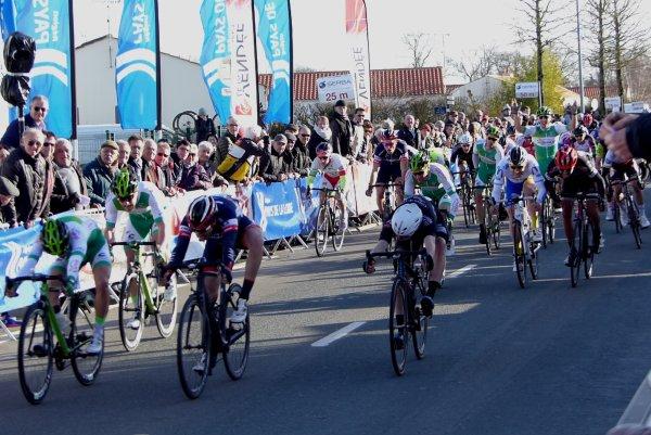 Challans(85).Circuit des Plages Vendéennes Elite Nationale 1.12.1. 5° étape Challans - Challans  145,4 km. Samedi 17 février 2018