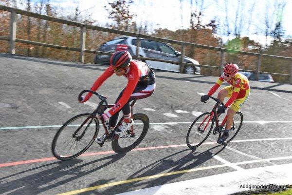 Damazan(47).Vélodrome de Damazan.5° des 6 jours de Damazan 2018. Samedi 17 février 2018