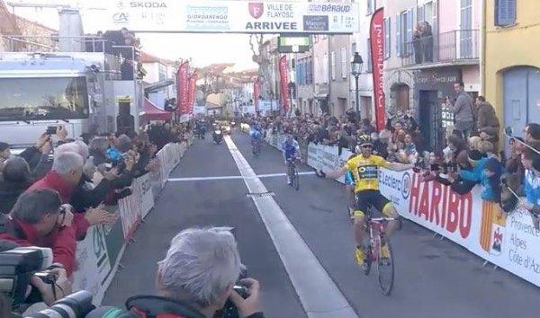 Flayosc(83).50° Tour Cycliste International du Haut Var Matin UCI 2.1. 2° étape Vidauban - Flayosc188.5 km.Dimanche 18 février 2018