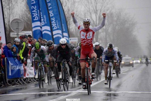 Le Perrier(85).Circuit des Plages Vendéennes Elite Nationale 1.12.1. 6° étape Le Perrier - Le Perrier 144,6 km. Dimanche 18 février 2018
