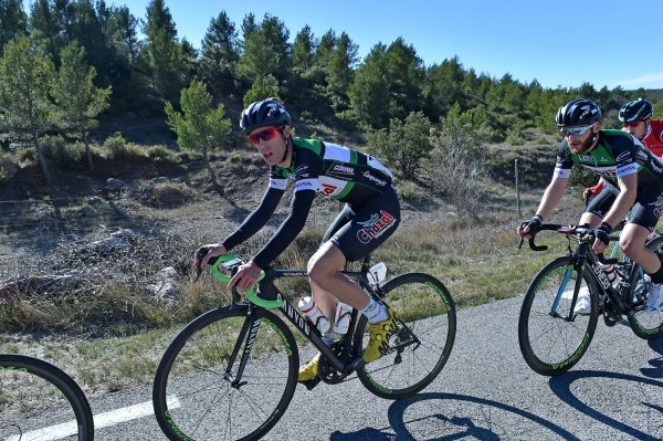 Puyloubier(13).Grand Prix de Puyloubier Sainte-Victoire.Elite Nationale 1.12.1. Puyloubier - Puyloubier 120 km.Dimanche 18 février 2018