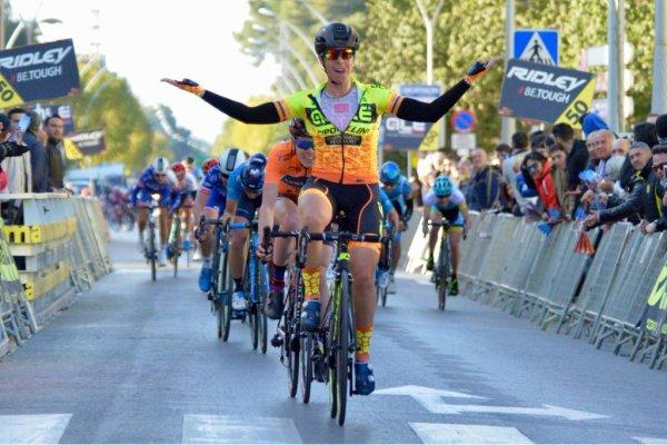 Villarreal(Esp).Setmana Ciclista Valenciana Dames UCI 2.2 WE.2° étape Castellón - Villarreal 115 km.Vendredi 23 février 2018