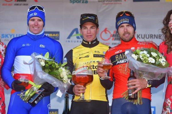 Kuurne(Bel).Kuurne-Brussel-Kuurne UCI 1.HC.Kuurne-Brussel-Kuurne 200 km.Dimanche 25 février 2018