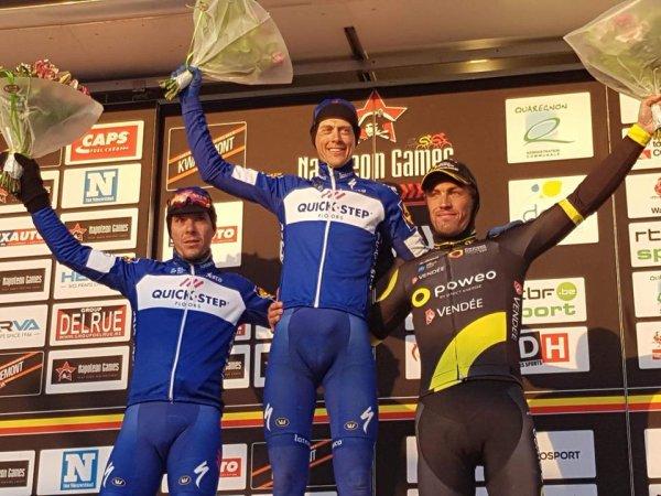 Dour(Bel).50° Le Samyn  UCI 1.1. Quaregnon - Dour 200 km. Mardi 27 février 2018