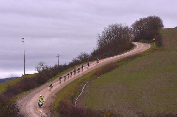 Sienne(Ita).12° Strade Bianche WE UCI 1.WWT.Elite Hommes.Sienne - Sienne 184 km.Samedi 3 mars 2018