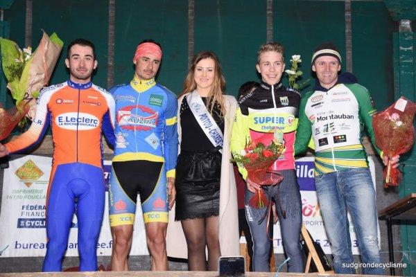 Ebréon(16).15ème Tour du Pays d'Aigre 122.5km.1ère , 2ème , 3ème catégorie , juniors , PC Open.Samedi 3 février 2018