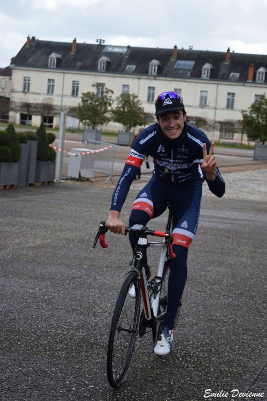 Yzeure(03).39ème édition du Circuit des 4 Cantons.Elite Nationale 1.12.1.Moulins - Yzeure 172 km.Samedi 3 février 2018
