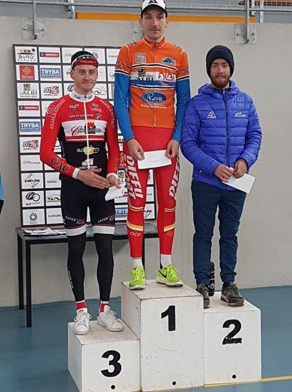 Albi(81).Grand Prix d'Ouverture d'Albi -REVA Le Sequestre 121 km.1ère/2ème/3ème/Jun/PCO.Dimanche 4 mars 2018