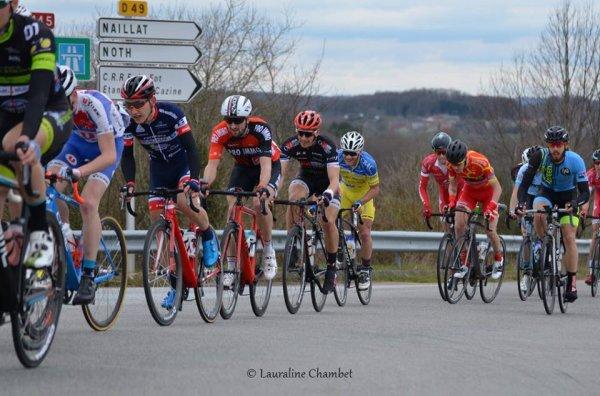 Bonnac-la-Côte(Haute-Vienne).7e édition de la classique Le Poinçonnet-Limoges Métropole Elite Nationale 1.12.1, Le Poinçonnet - Bonnac-la-Côte 160 km.Samedi 10 mars 2018