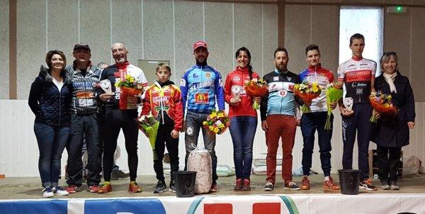 Montoussin(31).Grand Prix d'ouverture UFOLEP 31.Souvenir Sébastien Parent. 1/2/3/GS/F/C Ouvert aux NL FSGT,FFC. Samedi 10 mars 2018