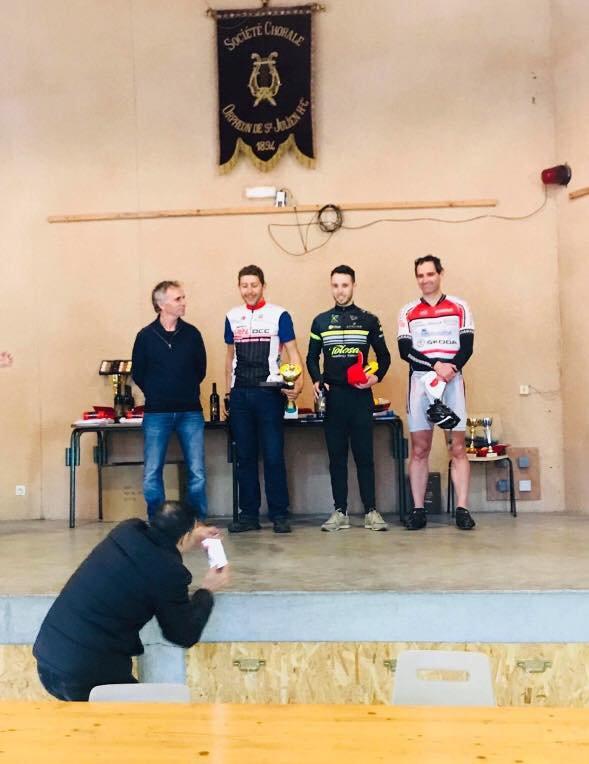 Saint Julien-Sur-Garonne(31). 5ème Grand Prix Cycliste. Challenge du Printemps.FSGT 1.2.3.4.5.F.C.M.  Dimanche 11 mars 2018