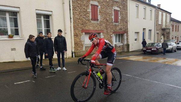 Saint Pierre de Trivisy(81).Course d'Ouverture Minimes + Dames M/C 26,52 km.Dimanche 18 mars 2018