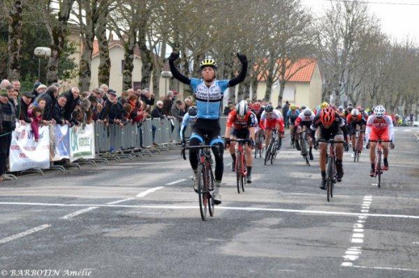 Buxerolles(86).Grand Prix de Buxerolles.Nationale Elite 1.12.1.Buxerolles - Buxerolles 145,2 km.Dimanche 18 mars 2018