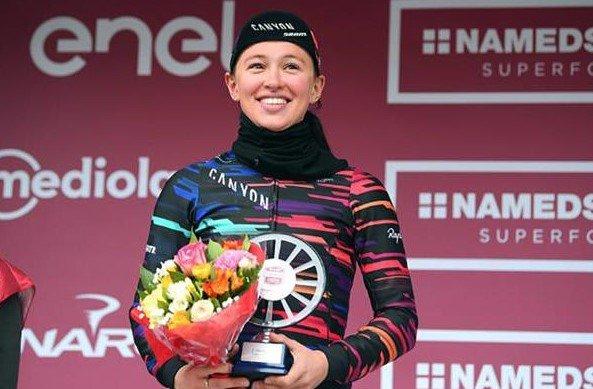 Cittiglio(Ita).20° édition du Trofeo Alfredo Binda-Commune di Cittiglio UCI Dames 1.WWT.Taino - Cittiglio 131,3 km.Dimanche 18 mars 2018