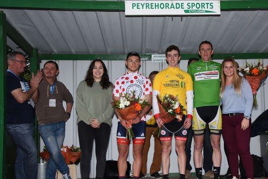 Habas(40).16° édition du Tour du Pays d'Orthe et Arrigans.1° étape  Habas-Habas 93 km.2ème,3ème,Juniors,PC Open.Samedi 14 Avril 2018