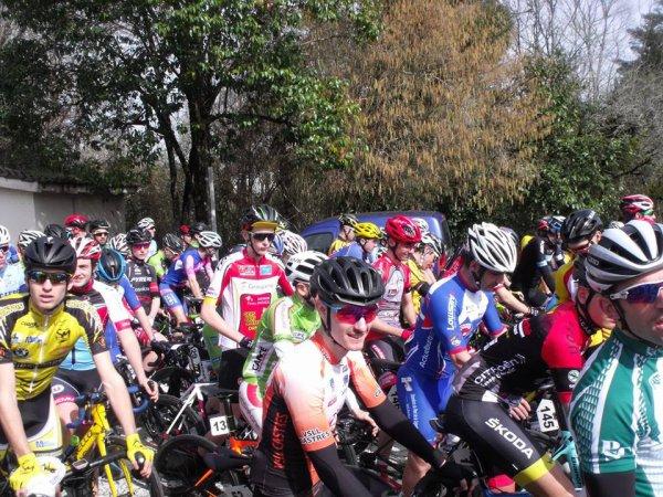 Saintes(17).La Rochelle-Saintes.Prologue 1 km + 120 km En ligne. 2.3.J.PCO.Dimanche 15 avril 2018