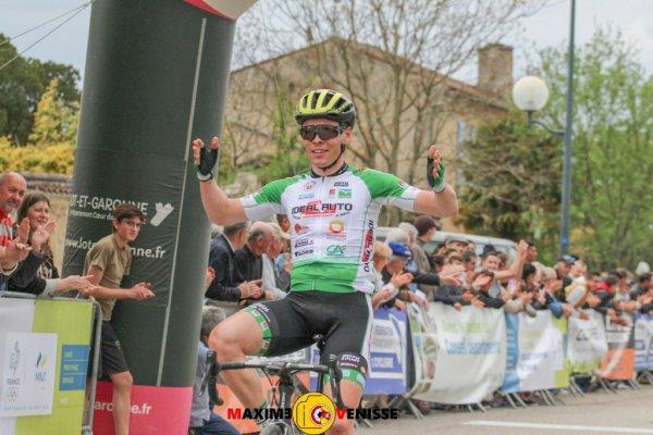Mézin(47).23° Tour du Lot et Garonne.1ère manche coupe de France DAG BICYCLES DN2.Condom - Mézin 173,5 km.Dimanche 15 Avril 2018