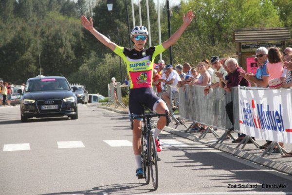 Le Fouilloux(17).40e édition du Tour du Canton de Montguyon-Challenge Guy Epaud.Nationale Juniors 1.14.Samedi 21 avril 2018