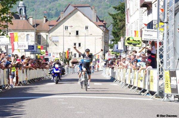 Salins-les-Bains(39).13° édition du Tour du Jura UCI 2.2.1° étape Poligny - Salins-les-Bains 163 km.Samedi 21 Avril 2018